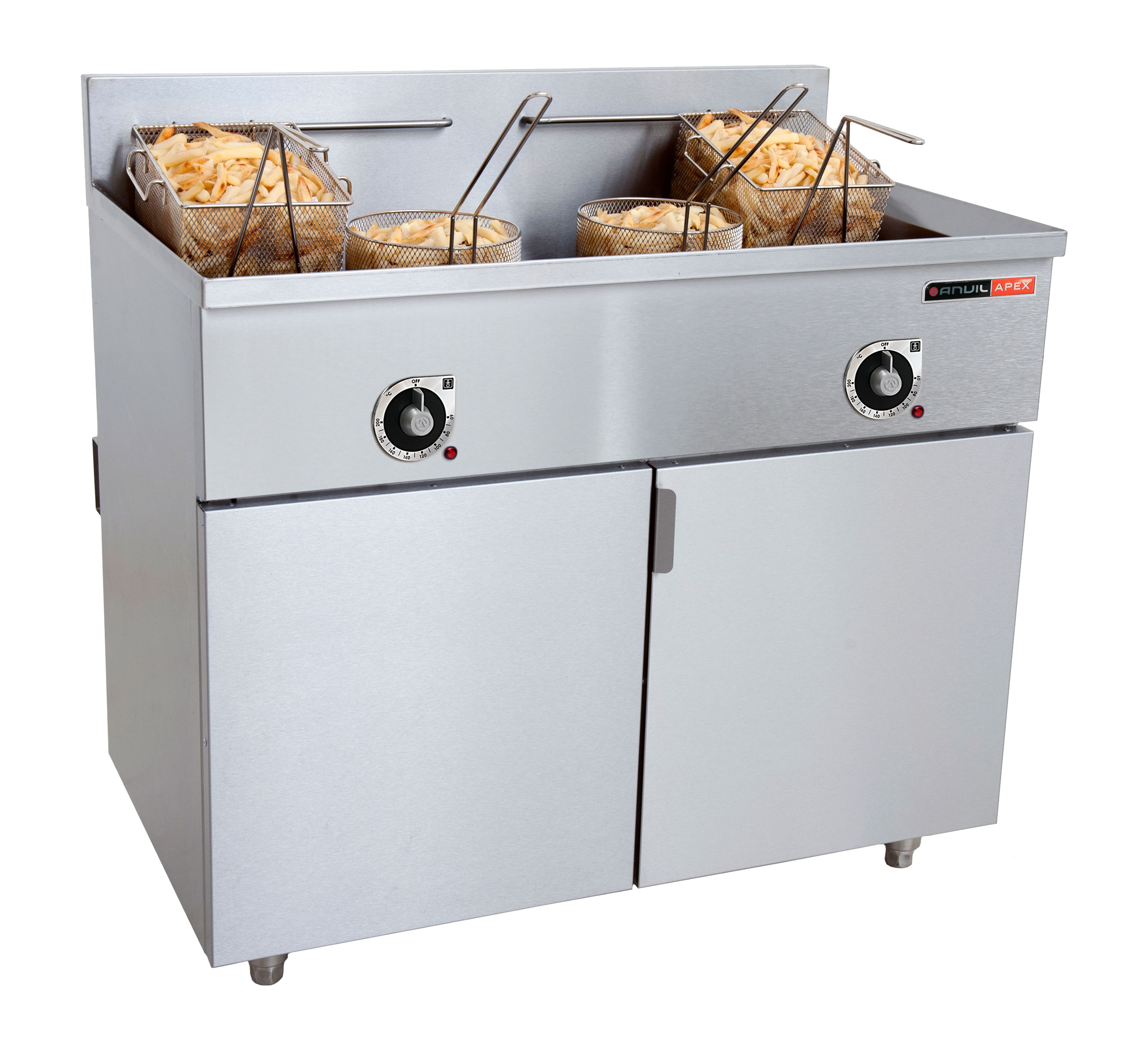 FISH FRYER ANVIL - 2 x 20Lt - 33kW - ELEC