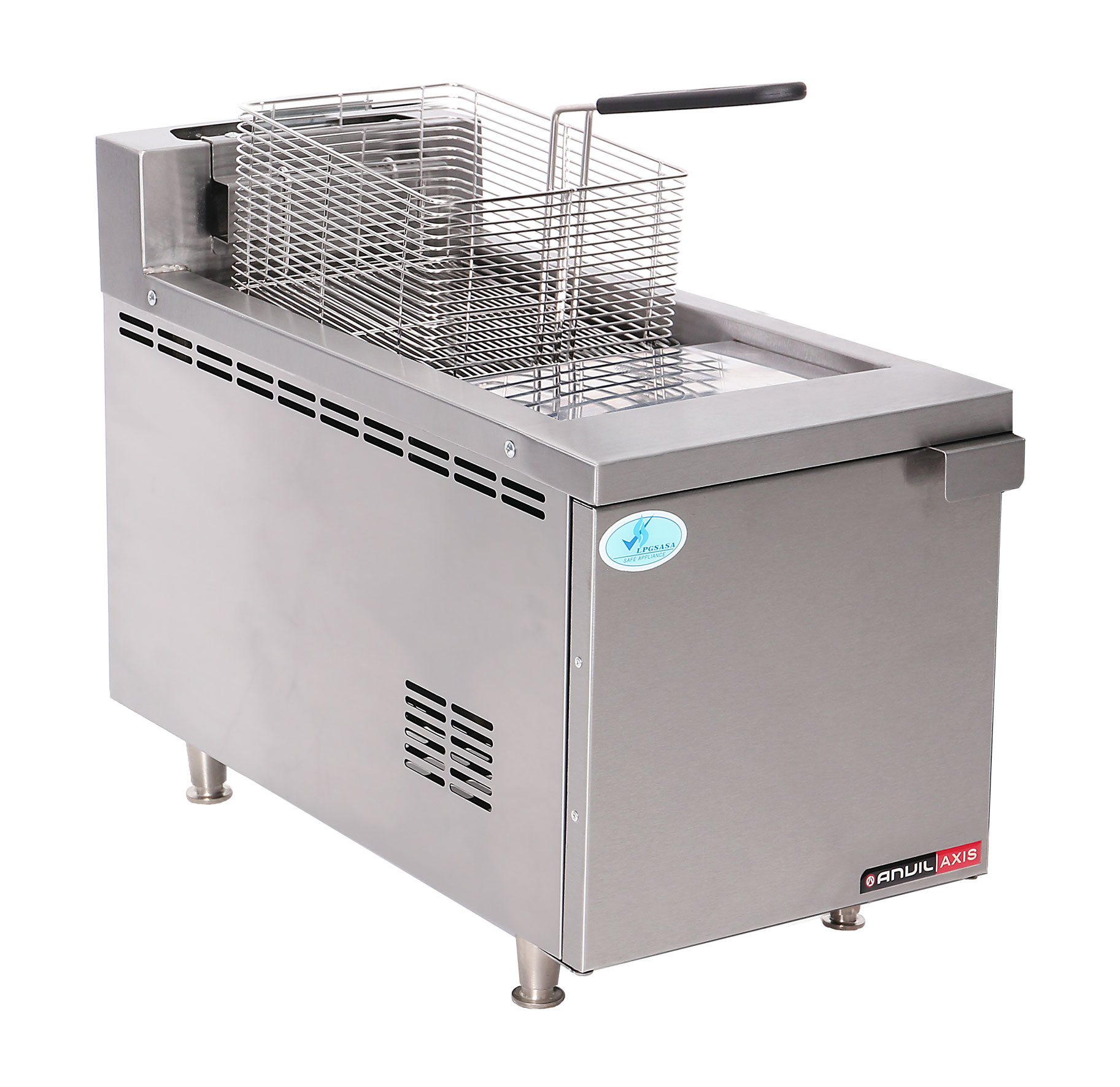 FISH FRYER ANVIL - SINGLE PAN - GAS