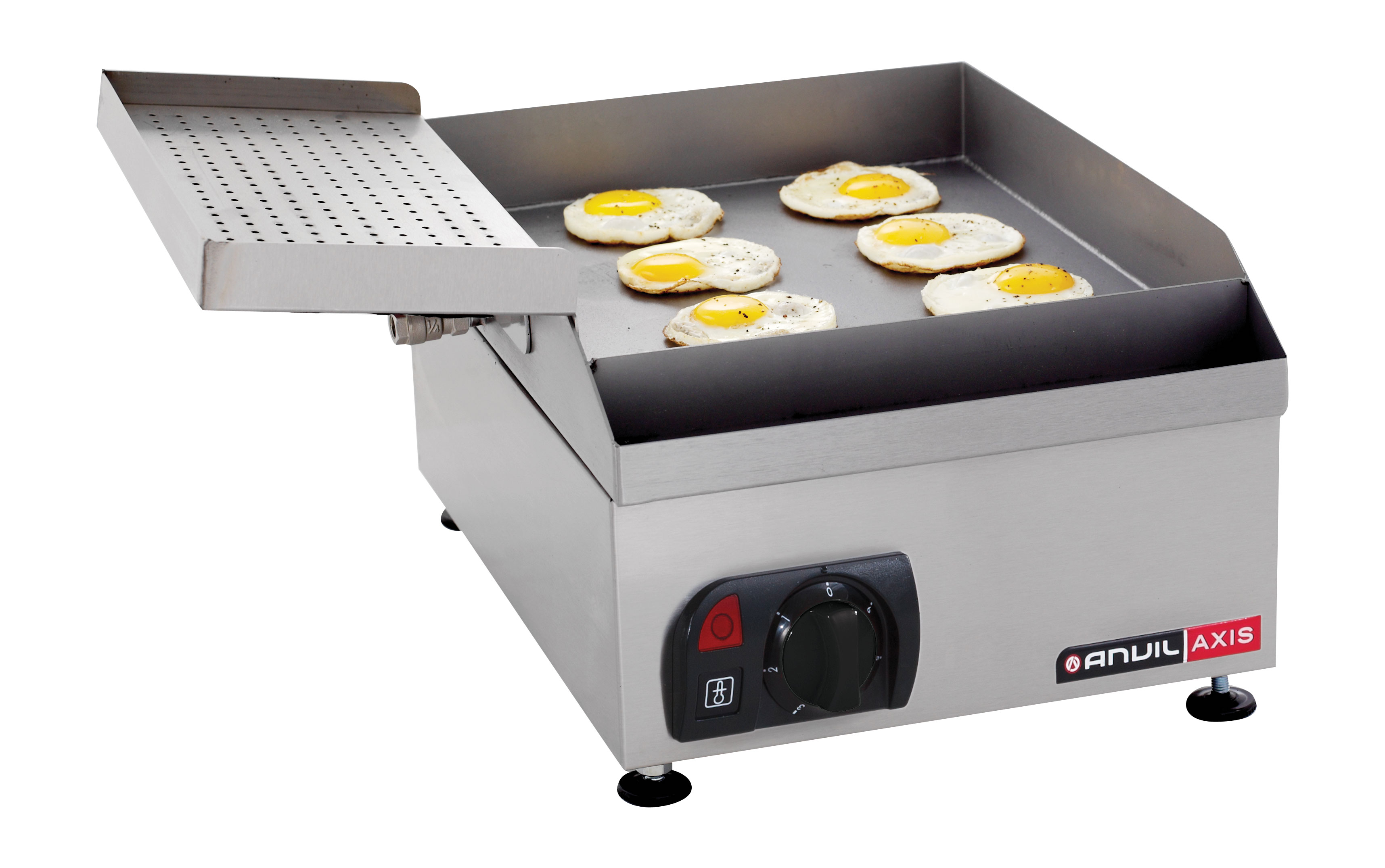 FLAT TOP GRILL ANVIL - EGG GRILLER - 400mm - ELEC