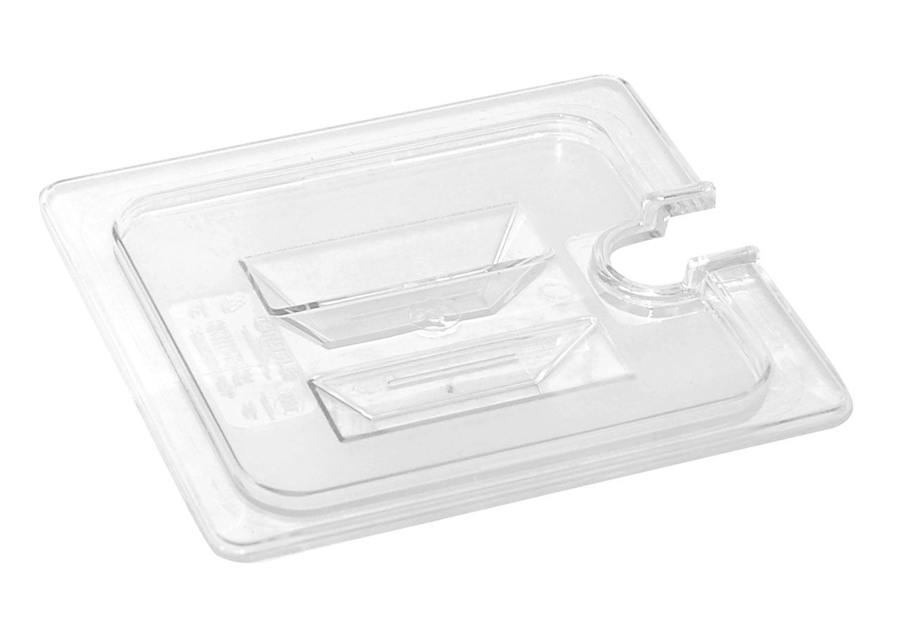 INSERT - FULL LID NOTCHED POLYCARB (CLEAR)