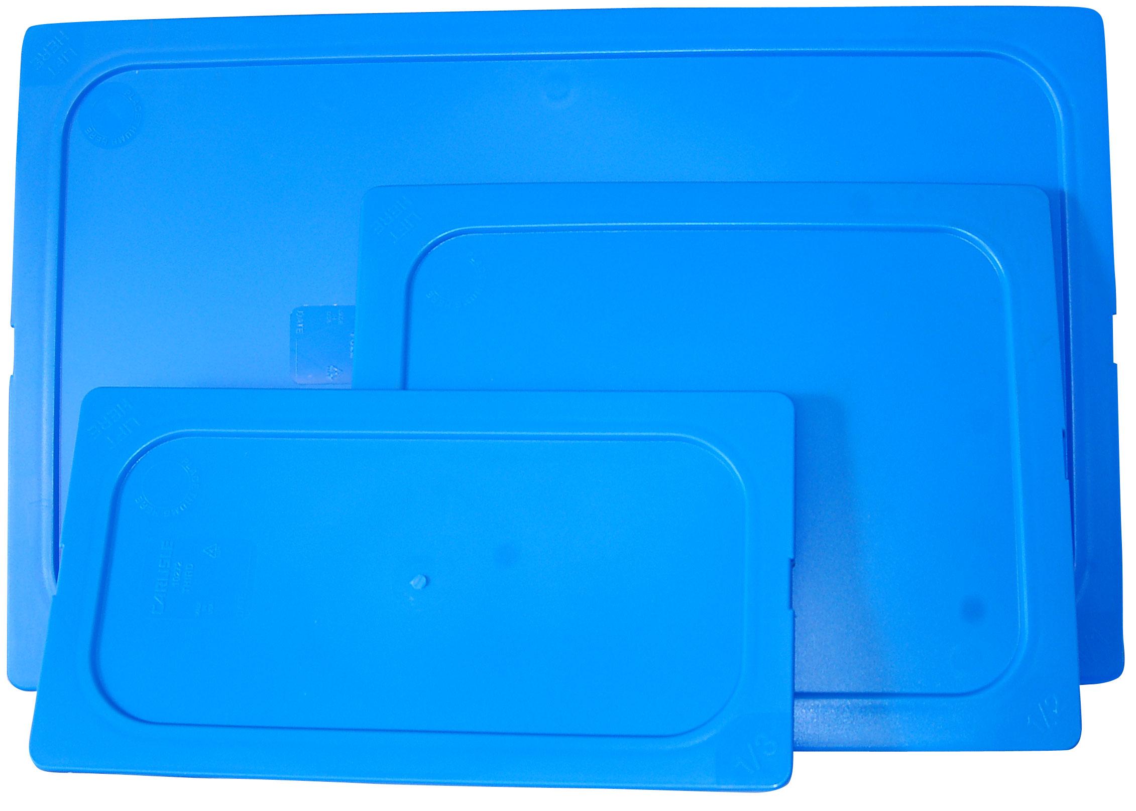 INSERT - HALF LID SNAP ON (BLUE)