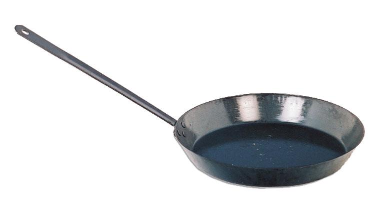 PAN (BLACK) IRON FRY - 300MM