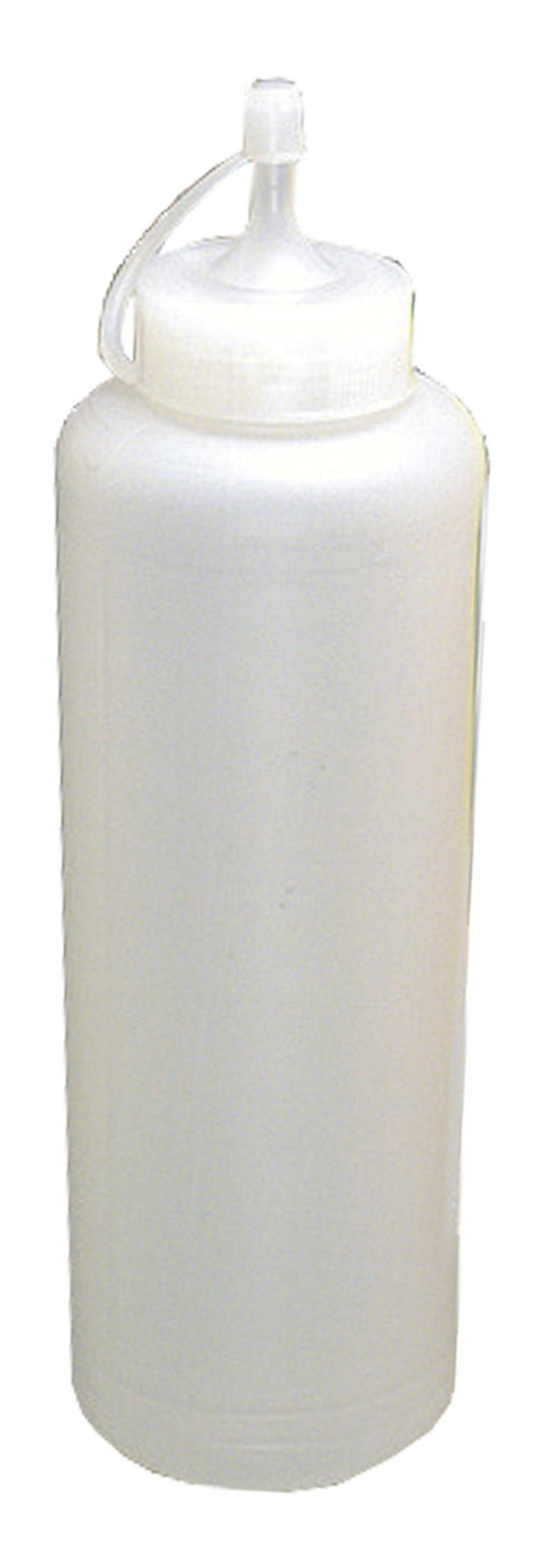 PLASTIC DISPENSER  (CLEAR) - 1LT (PACK OF 6)