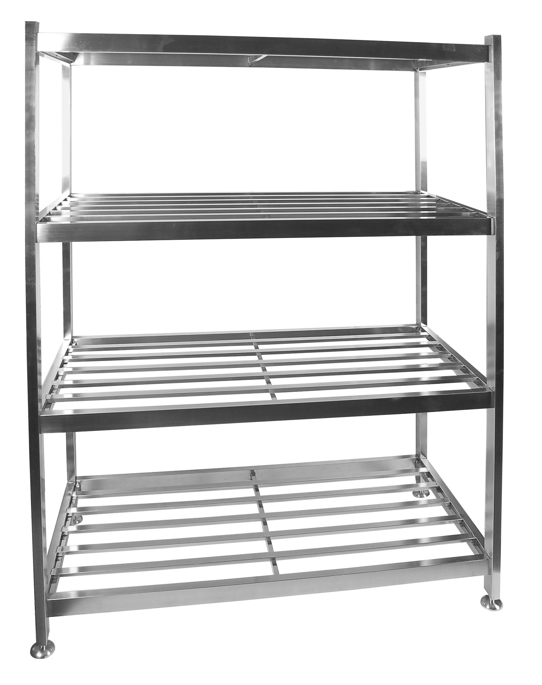 POT RACK S/STEEL - FLOOR STANDING 1200 x 600 x 1450mm