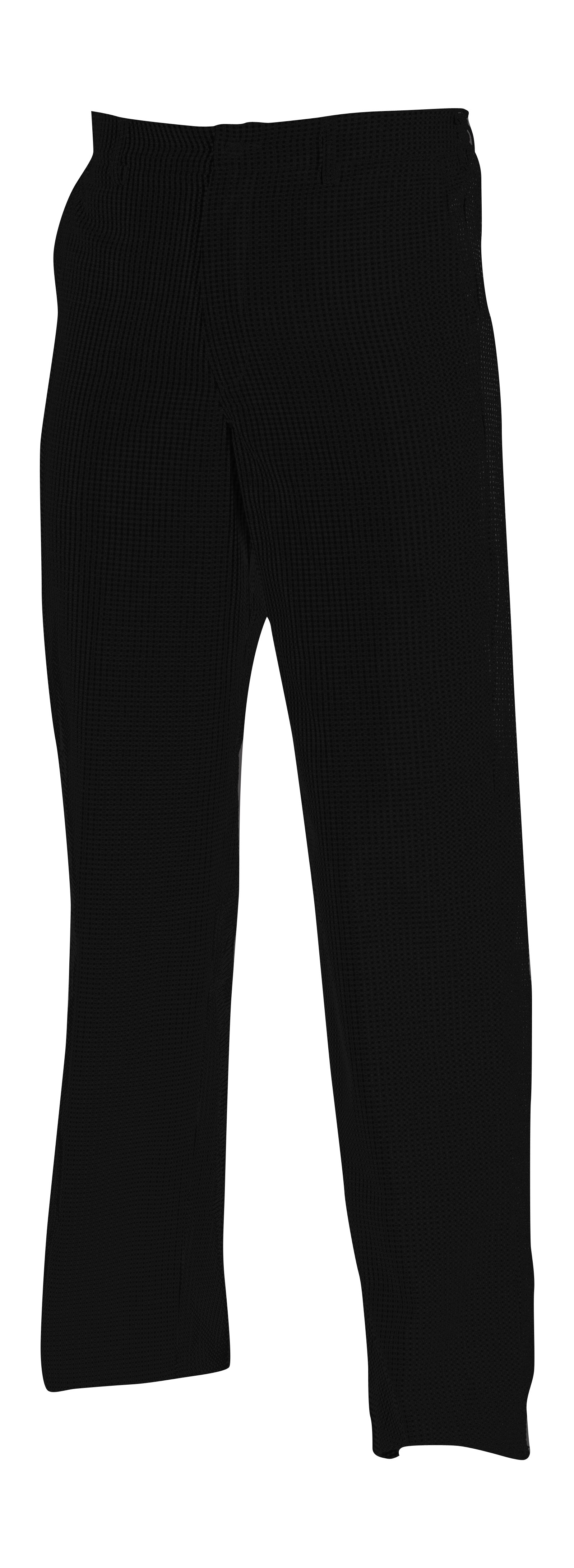 CHEF UNIFORM - TROUSERS BLACK ZIP - MEDIUM
