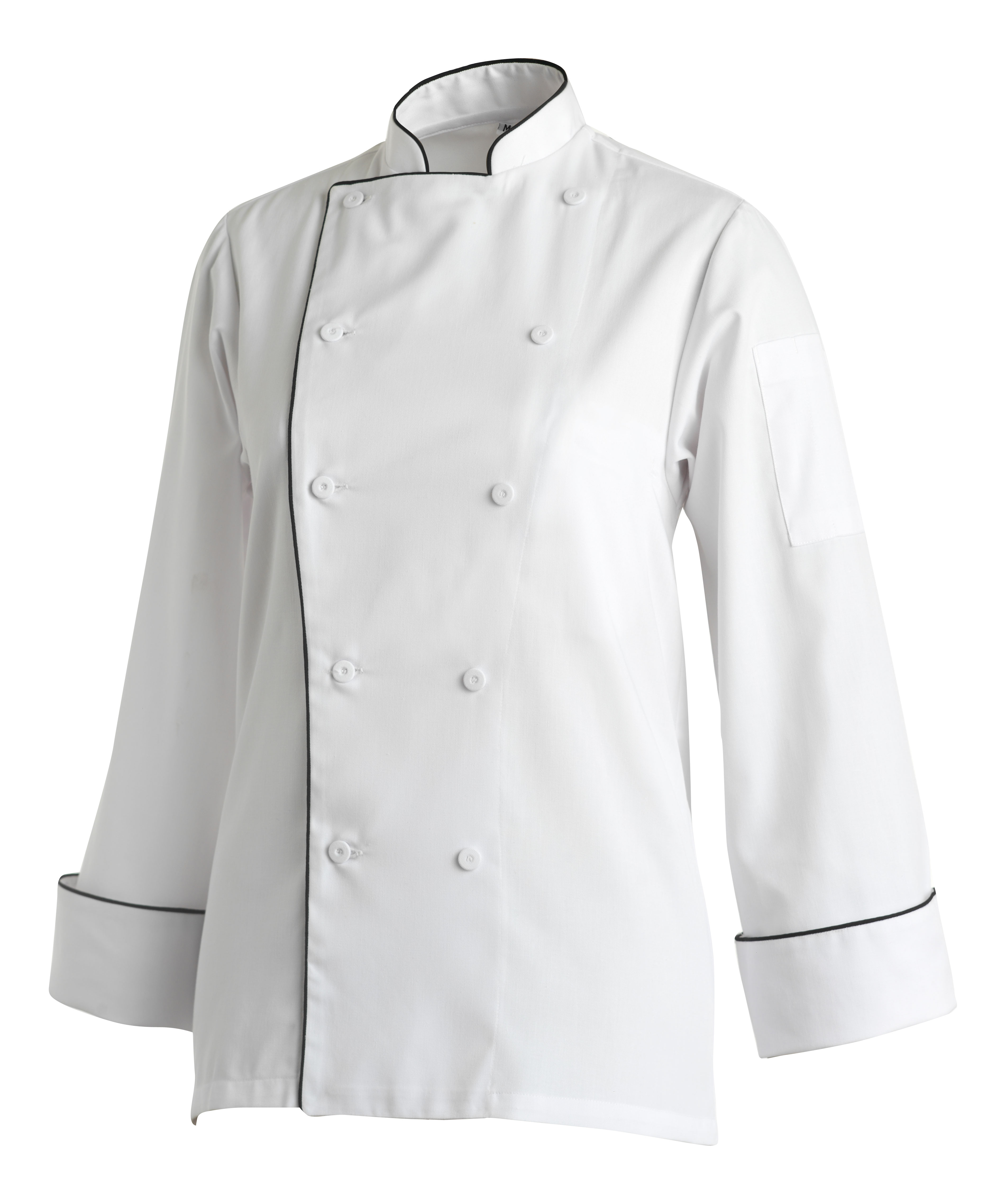 CHEFS UNIFORM LADIES BASIC JACKET - MEDIUM