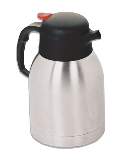 VACUUM FLASK S/STEEL INSULATED - 1.2Lt