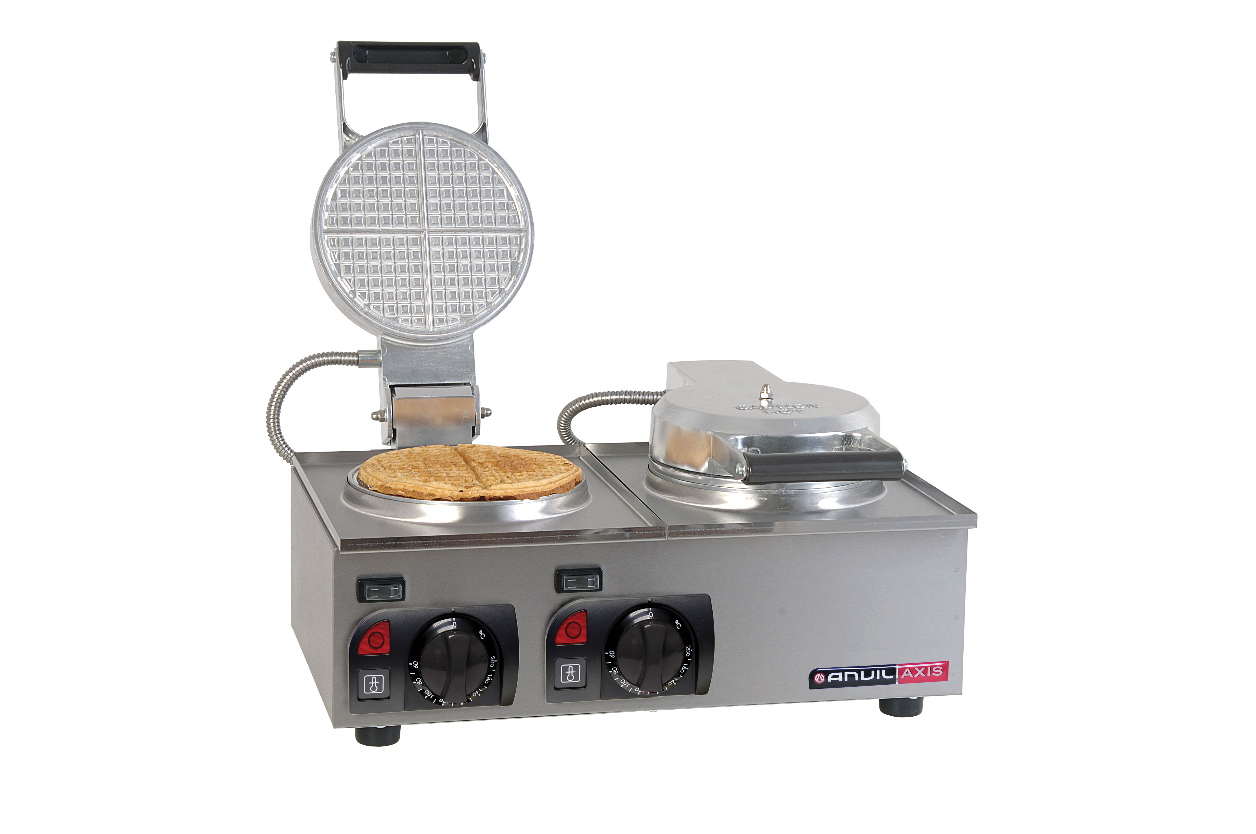 WAFFLE BAKER ANVIL - 2 PLATE