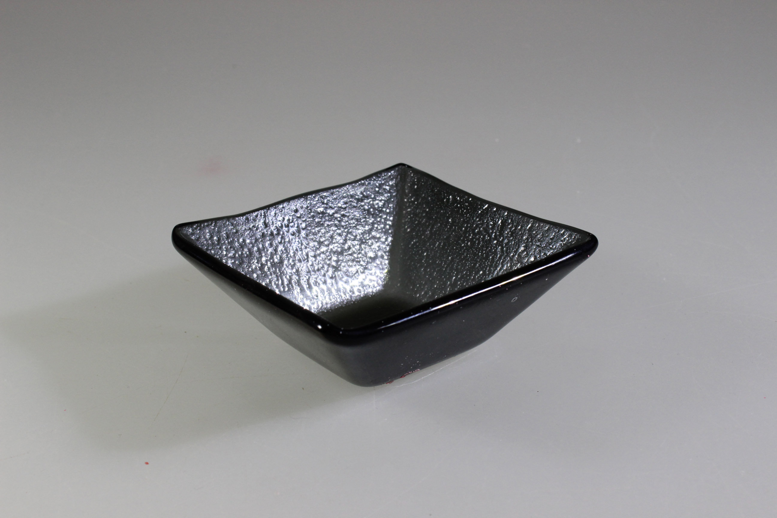 SALAD BOWL DARK GREY 9 x 9cm / 3.5cm DEEP (6)