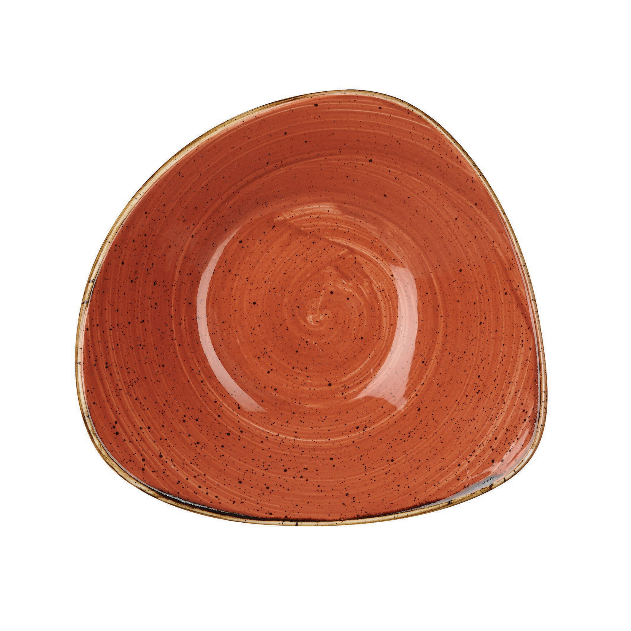 SPICED ORANGE - TRIANGLE BOWL - 15.3cm (12)