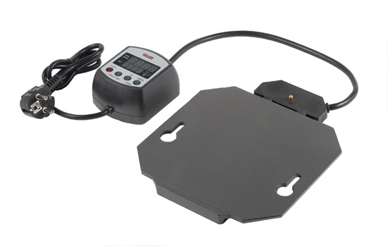 CHAFING DISH ELECTRIC HEATER PLATE WITH DIGITAL CONTROLLER AND TEMP SENSOR