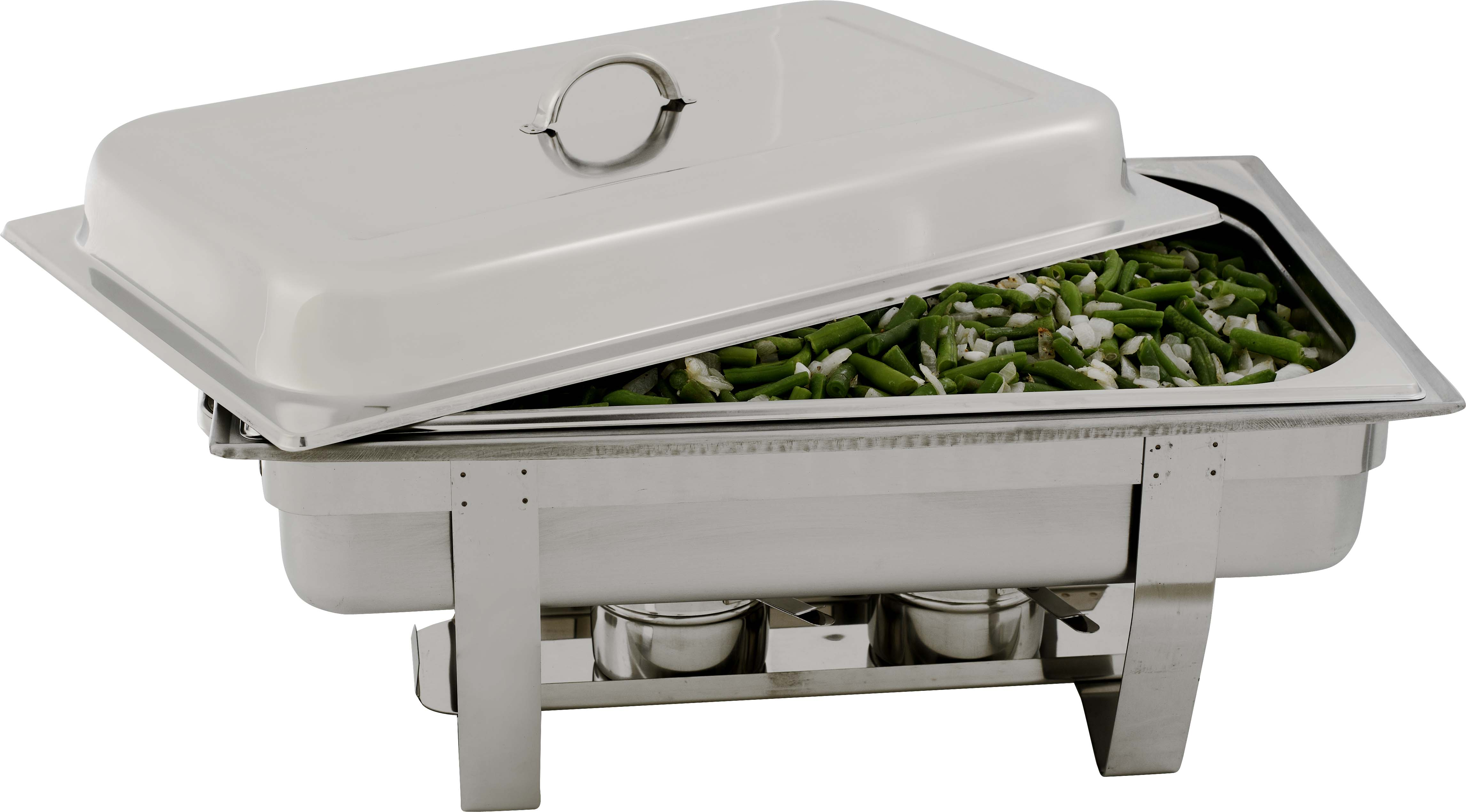 CHAFING DISH STAINLESS STEEL-POLISHED (RECTANGULAR) 7.5Lt
