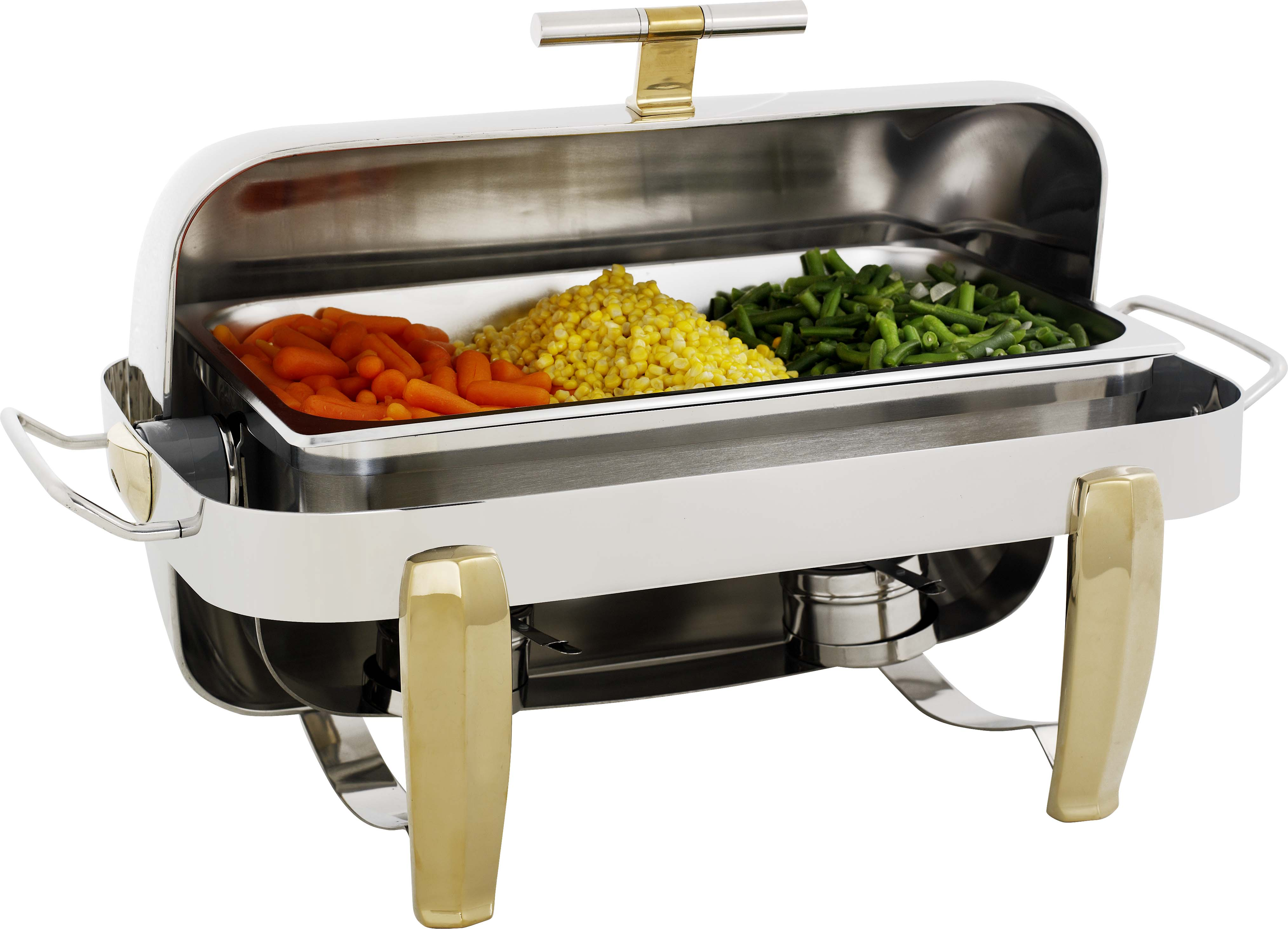 CHAFING DISH DELUX-ROLLTOP (RECTANGULAR) 7.5Lt