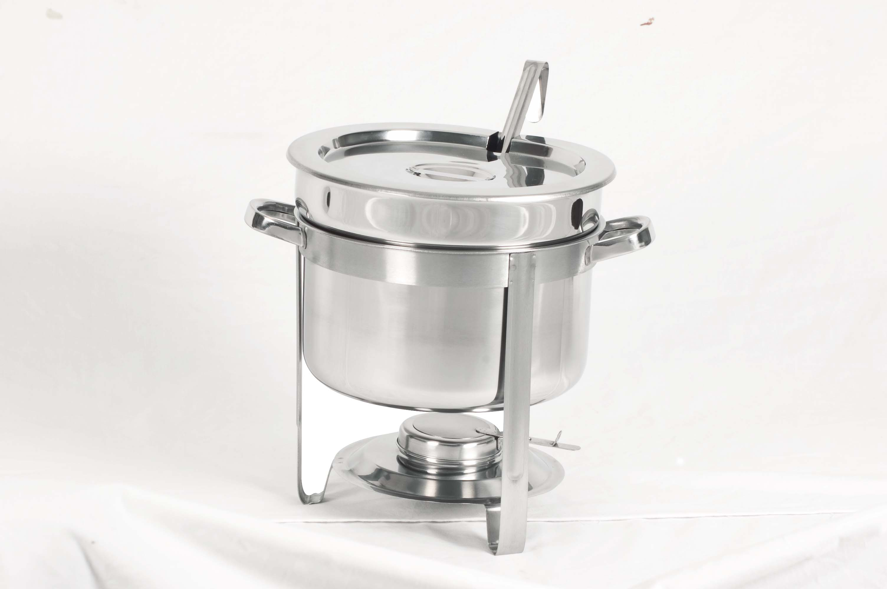 CHAFING DISH S/STEEL- SOUP STATION 9Lt