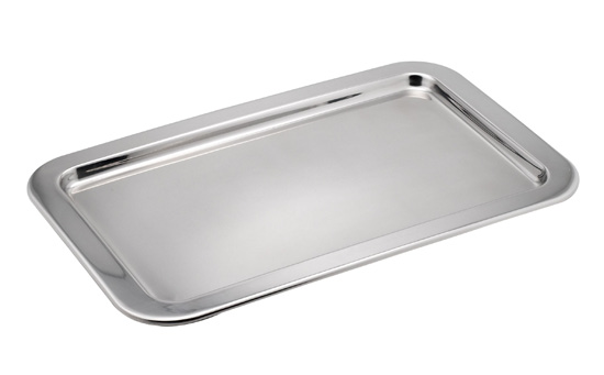 COLD DISPLAY TRAY GN 1/1 RECTANGULAR S/STEEL 526 x 325 x 16mm
