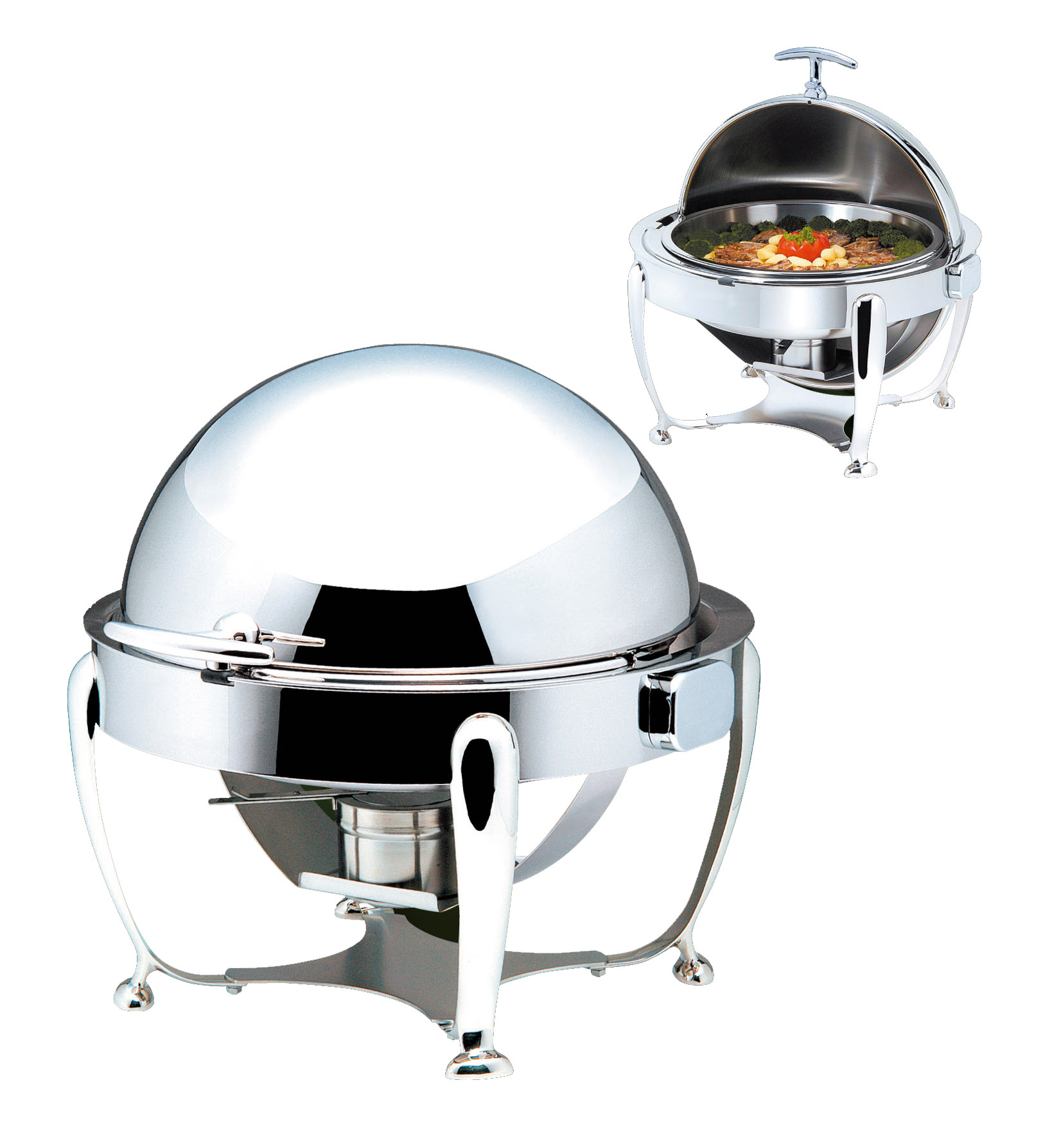 CHAFER ROUND INFINITI CLASSIC - ROLLTOP - 380mm