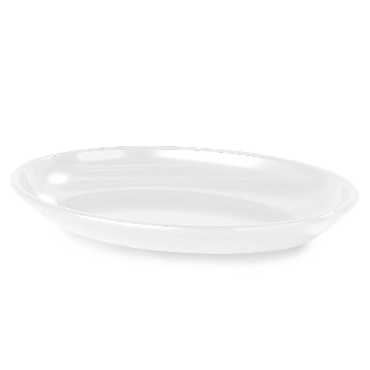 OVAL PLATTER - 406 X 305mm 2.8Lt (BLACK)