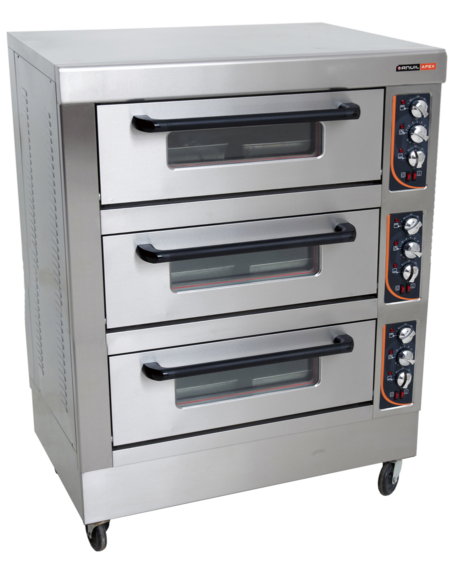 DECK OVEN ANVIL - 6 TRAY - TRIPLE DECK