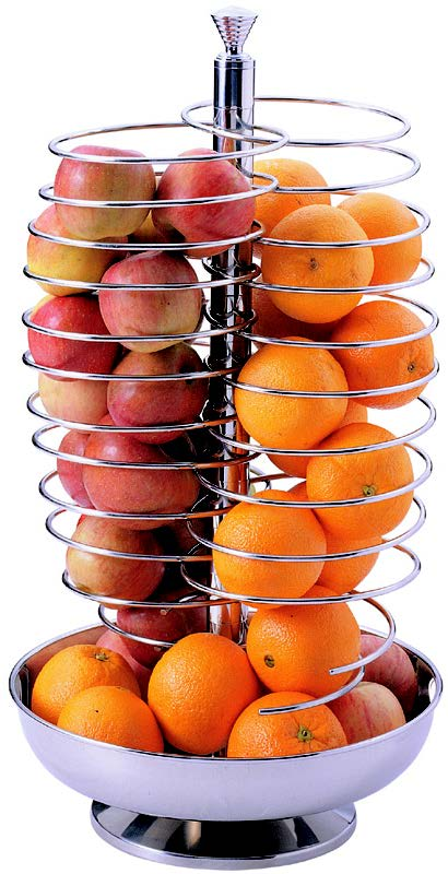 FRUIT DISPENSER SWIVEL S/STEEL 328 x 565mm
