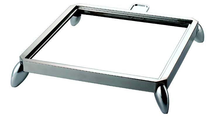 INDUCTION HOB STAND- S/STEEL (SQUARE) 417 x 459 x 85mm