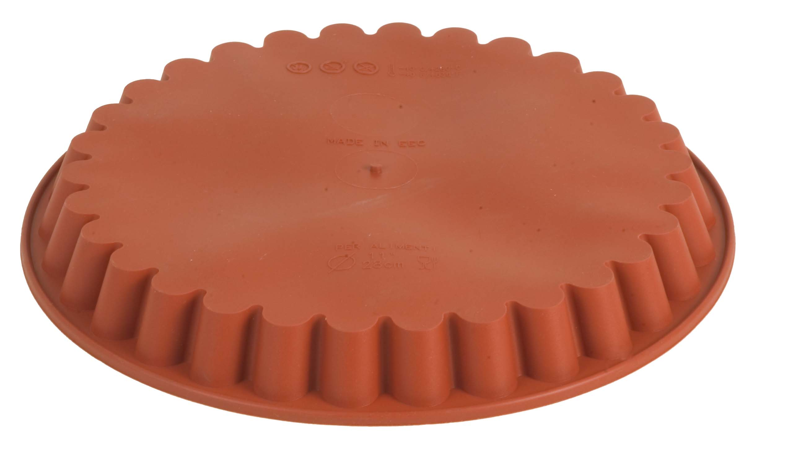 MOULD SILICON ROUND(FLUTED EDGE) - 280 X 32 MM
