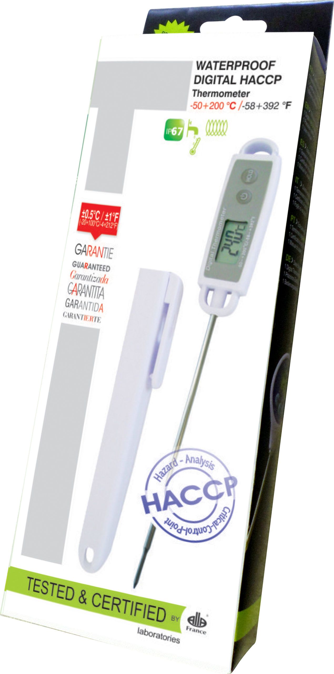 THERMOMETER DIGITAL HACCP (-50 TO +200) HACCP DIGITAL THERMOMETER