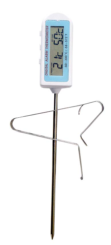 Water Resistant Thermometer With Timer