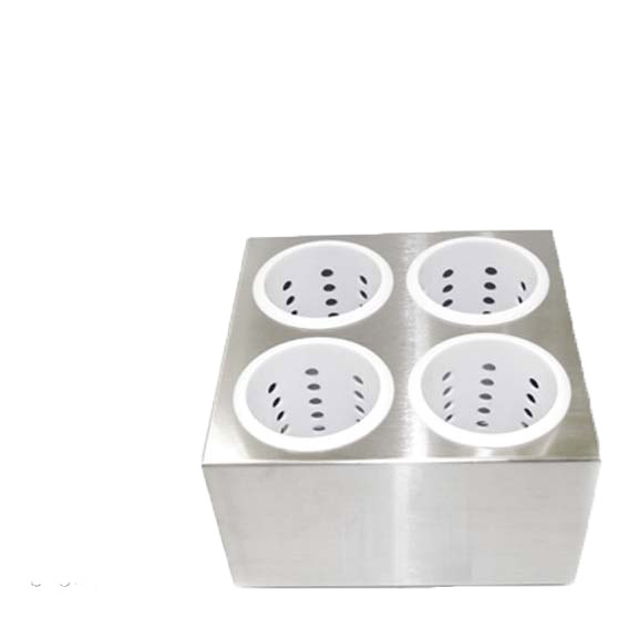 UTENSTIL HOLDER - 4 PLASTIC INSERTS
