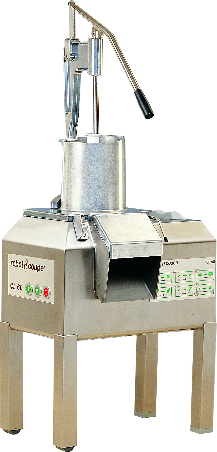 VEG PREP MACHINE - CL60 WITH PUSHER FEED (3000 SERVINGS)