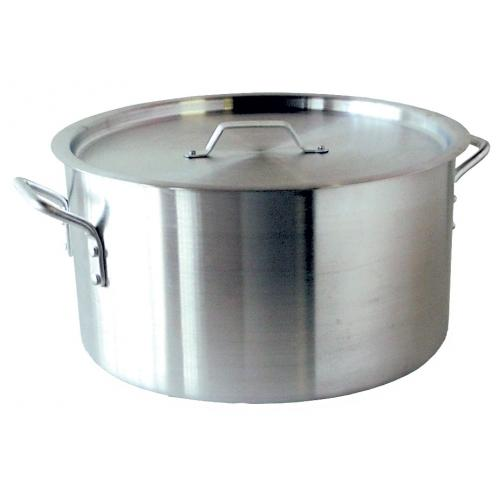 POT ALUMINIUM CASSEROLE (VALUE)-12LT