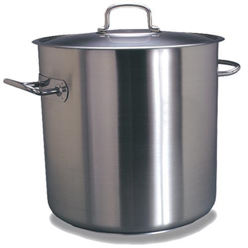POT S/STEEL CASSEROLE -  12LT