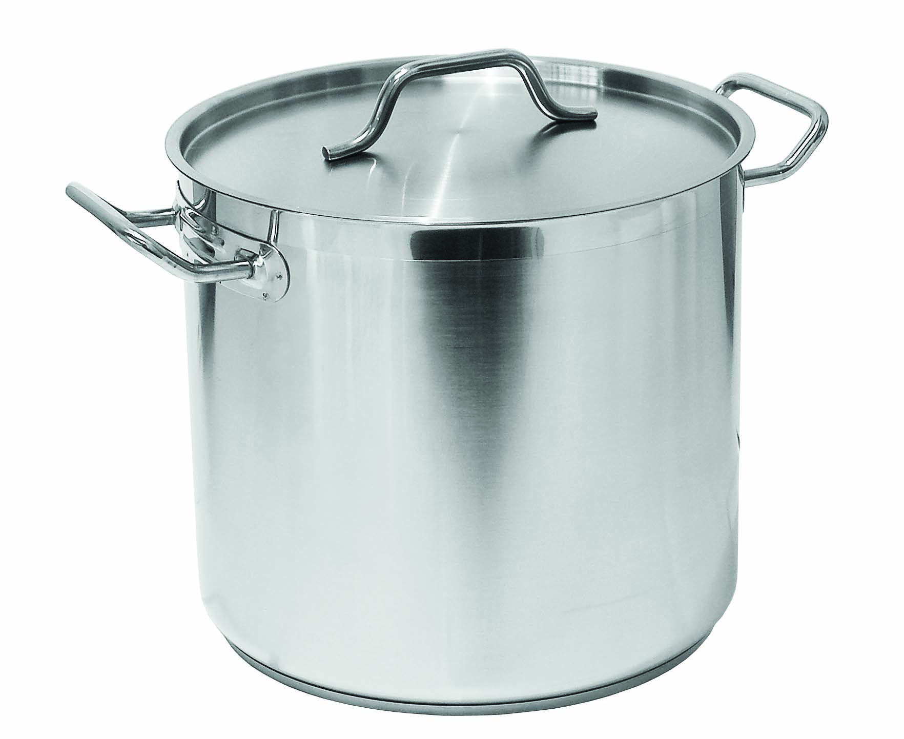 POT S/STEEL CASSEROLE(VALUE) - 10LT