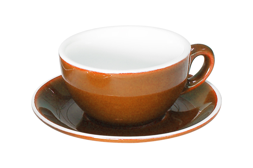 OPEN CAPPUCCINO CUP BROWN - 21CL (36)
