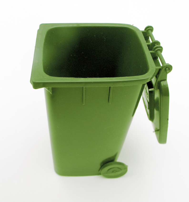 MOBILE REFUSE BIN 240Lt (GREEN) ORGANIC WASTE