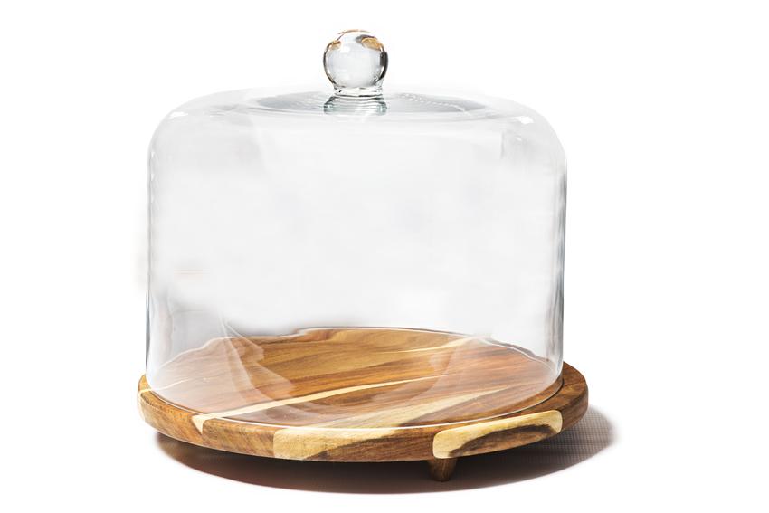 STRAIGHT CAKE DOME [DIAMETER 350mm / HEIGHT 300mm]